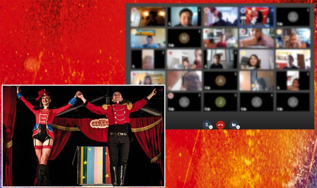 Teatro digitale interattivo di magia